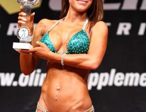 Sieg in der Bikiniklasse bis 165cm