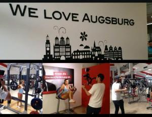 Promovideo CleverFit Augsburg Oberhausen