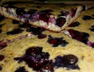 Riesen Blaubeer Pancake
